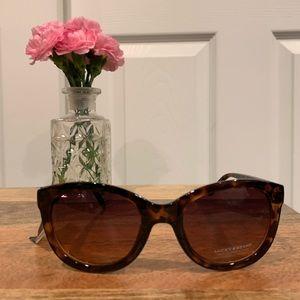 New Lucky Brand glam Tortise shell sunglasses